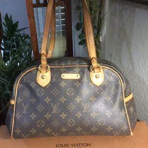 Authentic Louis Vuitton Montorguiel PM